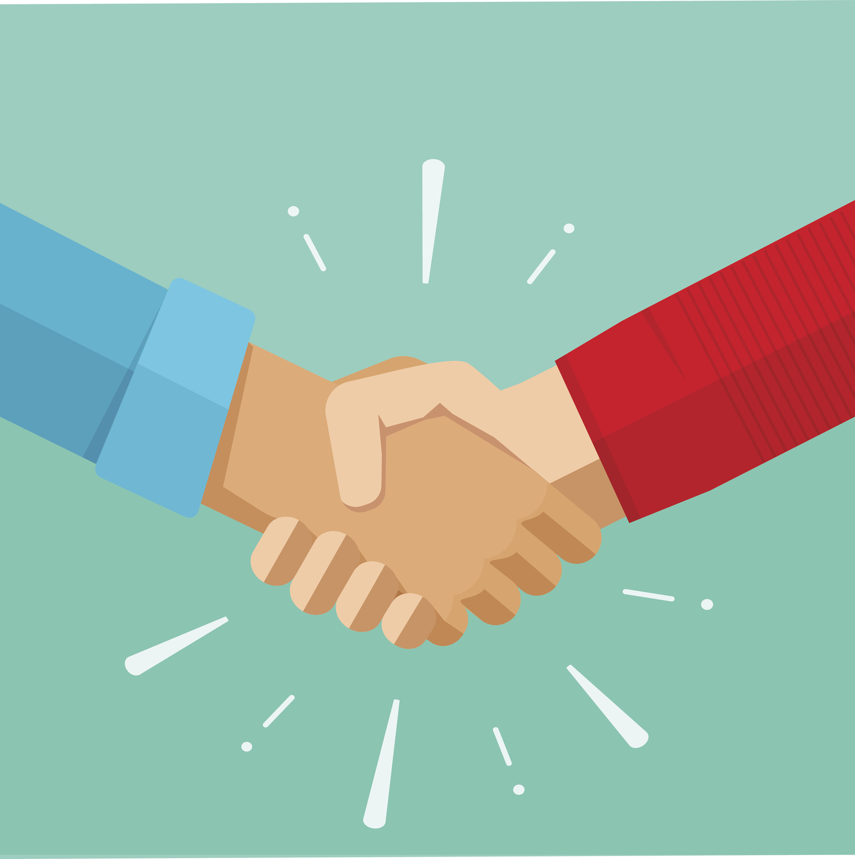 the drama of the handshake ramsey s rules shaking hands vector illustration shake hands vector logo